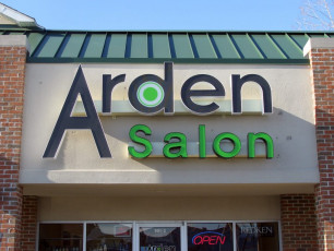 Arden Salon - Channel Letters
