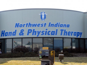 NWI Hand & Physical Therapy - Flat-Cut Dimensional Logo & Letters