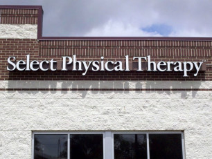 Select Physical Therapy - Channel Letters