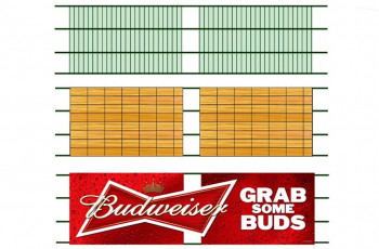 Arlington (Texas Rangers) - Budweiser Sign Plans
