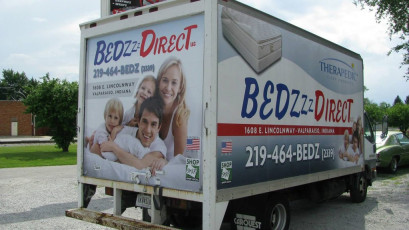 Bedzzz Direct - Full Box Truck Wrap