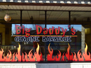 Big Daddy's - Window Graphics