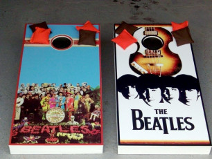 Custom Cornhole Set - The Beatles