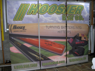 Hoosier Bat Company - Retractable Popup Banners