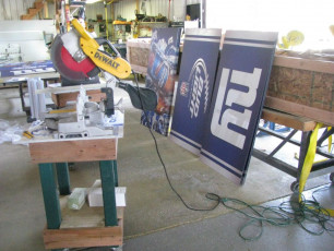 MetLife Stadium (NY Giants) - Sectional Signs #2