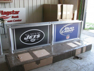 MetLife Stadium (NY Jets) - Sectional Signs
