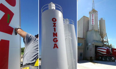 Ozinga - Silo Graphics