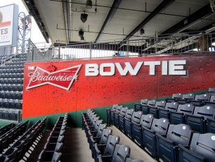 PNC Park (Pittsburgh Pirates) - Budweiser Bowtie Sign