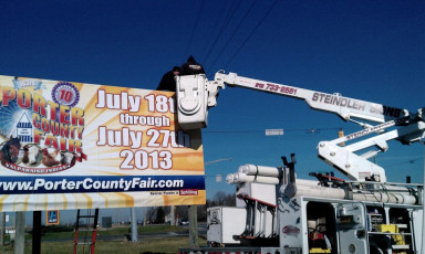 Porter County Fair - Billboard
