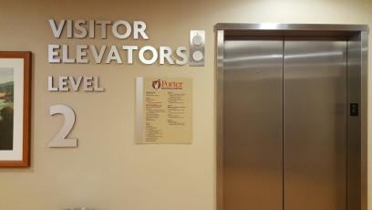 Porter Regional Hospital - Interior Directories & Inserts #2
