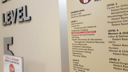 Porter Regional Hospital - Interior Directories & Inserts #3