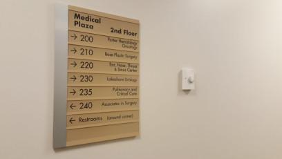 Porter Regional Hospital - Interior Directories & Inserts #6