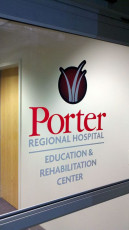 Porter Regional Hospital - Window Graphics