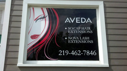Salon Amara - Window Graphics #3