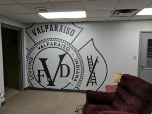 Valparaiso Fire Dept - Wall Graphics