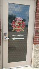 Valparaiso Fire Dept - Window Graphics
