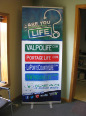 Valpo Life - Retractable Banner