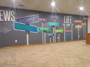 Valpo Life Studio - Full Wall Wrap #2