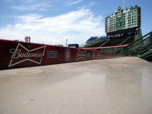 Wrigley Field (Chicago Cubs) - Budweiser Patio Signage #3