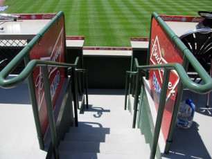 Wrigley Field (Chicago Cubs) - Budweiser Patio Signage #4