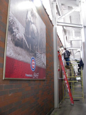 Wrigley Field (Chicago Cubs) - Concourse Signage #2