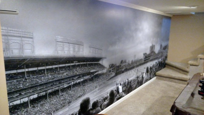 Wrigley Field Wall Wrap
