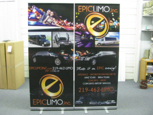 Epic Limo - Retractable Banners