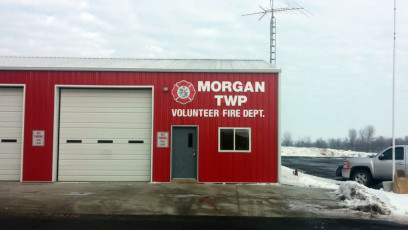 Morgan Twp Fire Dept - Dimensional Letters